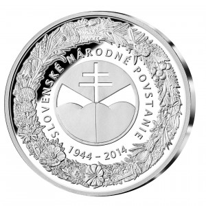 Pamätná medaila 70. výročie SNP reverz