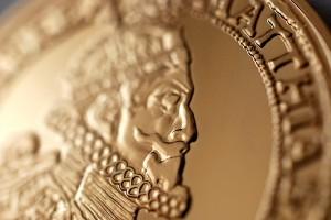 Replika Zlatého 10 Dukátu Mateja II. - pamätné medaily