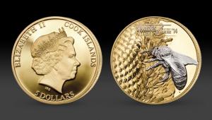 Strieborna pamätná minca Včela