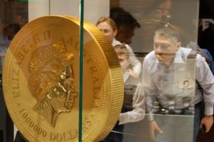 Najväčšia minca sveta