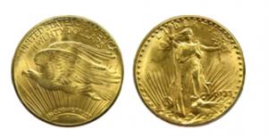 Double Eagle 1933 zlaté mince