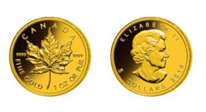 Kanadský javor Národná Pokladnica