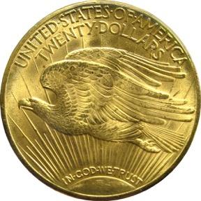 Double Eagle 1933 - Revers