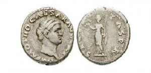 Denár cisára Othona