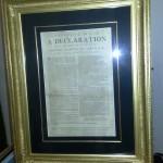 Deklarácia nezávisloti USA