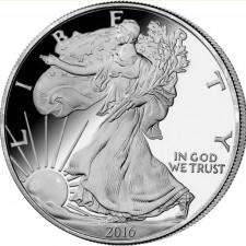 Silver Eagle 2016 Revers