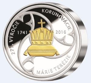 Kilová medaila Márie Terézie revers