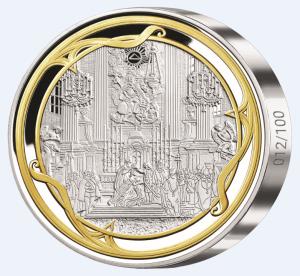 Kilová medaila Márie Terézie avers
