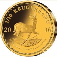 Investičná minca Krugerrand 2016